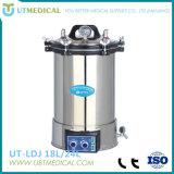 Stérilisateur portatif de vapeur de pression électrique ou LPG de chauffage