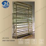 工場供給の高品質のステンレス鋼の金属のワインの飾り戸棚
