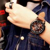 322 أصل [يزول] [أونيسإكس] [بروون] كبير مزولة قرص رياضة ساعة ليّنة جلد ساعة لأنّ عمليّة بيع