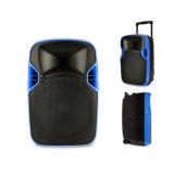 12 pouces du chariot MP3 DEL de haut-parleur en plastique de projection avec la batterie