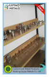 Часть высокой точности подгонянная латунная латунью/алюминием/нержавеющей сталью CNC подвергая механической обработке