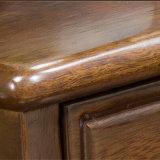 Conjunto moderno de cômoda de madeira estilo americano para uso em quarto com as 831