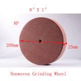 """disco de moedura não tecido não tecido da roda de moedura de 8 8p """" X1 """""""
