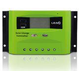 Controlador inteligente solar da carga 30A do sistema de energia com USB