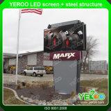 55 quiosco de la pantalla táctil del LCD del panel de la pulgada TFT, pantalla al aire libre del contraluz 2000nits LCD del LED, señalización al aire libre de Digitaces