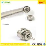 Fibra estándar dental de alta velocidad Handpiece óptico del pulsador de Handpiece