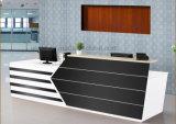 Стол приема офиса счетчика гостиницы самомоднейшей конструкции (HX-5N003)