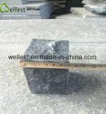 벽돌을 포장하는 자연적인 까만 화강암 옥외 차도 포석