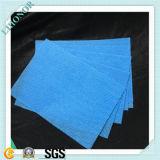 tela azul do Nonwoven de 90GSM Spunlace