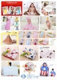Полотенце младенца с капюшоном, цветастое полотенце, полотенце младенца OEM