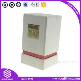 Caixa de papel Handmade gama alta que empacota o frasco de perfume cosmético