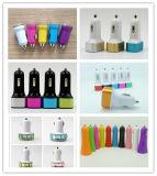中国製工場価格の高品質のABS電子プラスチック部品2.1A円形USB 1のポートの自動携帯電話車の充電器ハウジング