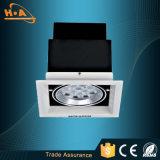 Luz branca muda quente da grade do diodo emissor de luz da cabeça da venda 12W única