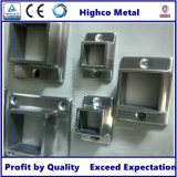 Stainless Steel Square Base Flange for Handrail and Balustrade