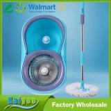 Do arrasto giratório duplo da movimentação do tambor assoalho colorido que limpa o espanador giratório