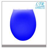Couverture bleue sanitaire de siège des toilettes de Duroplast