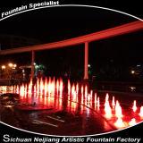 Demostración del agua del restaurante de la fuente