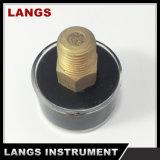 消火器に使用する063b 30mmの圧力計