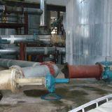 Tipo válvula de Flusing de parte inferior del tanque de la mezcla del agua del carbón