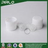 bottiglie di vetro nere 20ml con la protezione evidente e bianca del compressore