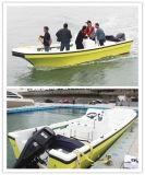 Barco de pesca com fibra de vidro 22FT / Barco de velocidade com baixo preço