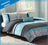 ブラウンのホテルのコレクションは綿のキルトカバー寝具を印刷した