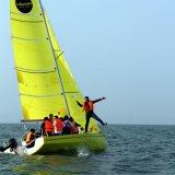 Tipo materiale barca a vela di Monohull della vetroresina per il centro di formazione della barca a vela