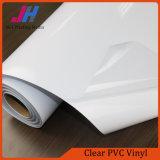Amovible en PVC transparent brillant vinyle adhésif