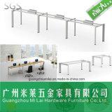 Pé modular tradicional da tabela do aço inoxidável da mobília da estação de trabalho do escritório