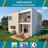 Casa moderna de lujo de la casa prefabricada del chalet de la estructura de acero