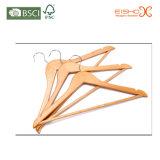 Gancio di legno di vendita caldo di uso dell'indumento del supermercato per il commercio all'ingrosso (MC010)