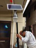 Reines Solarstraßenlaternedes Weiß-LED mit Polen