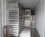 Échafaudage en aluminium d'alliage de lisses d'escalier