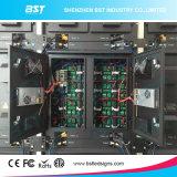 Indicador de diodo emissor de luz do anúncio ao ar livre dos multimédios do Bst, passo exterior 8mm do pixel da tela do diodo emissor de luz