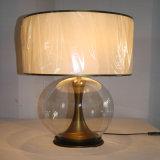 좋은 2016 새로운 디자인은 간단한 금속 침대 탁자 램프 전기도금을 한다