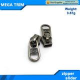 Cursore della chiusura lampo del metallo degli accessori degli indumenti 5#