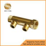 Distribuidor de bronze da água para os encaixes de tubulação