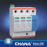 O dispositivo de proteção trifásico do impulso do prendedor da C.A. da C.C. com RoHS, IEC61643-1 aprovou