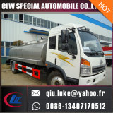 Camion frais de transport de lait de camion-citerne de lait de réservoir à lait d'acier inoxydable d'Inox