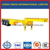 40 van de Skeletachtige van Chassis van de Vrachtwagen van de Aanhangwagen van de tri-Assen voeten Aanhangwagen van de Container op Verkoop
