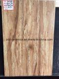 Tuile rustique en bois de porcelaine de matériau de construction