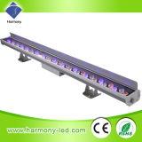 Iluminação impermeável arquitetônica IP 65 LED com 36 * 1W RGB
