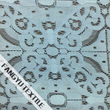 Tessuto elegante del merletto con il filo di cotone ed il nylon
