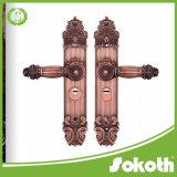 Sokothは大きい版が付いている真鍮の別荘のゲートのドア及びドアのハードウェアを作った