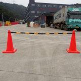 Barre ritrattabili di plastica del cono di traffico