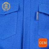 OEM 파란 용접 안전 작동되는 작업복