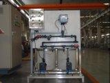 Dosando o dispositivo do equipamento do tratamento da água