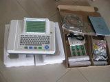 Польза стационара 8.4 канал ECG Electrocardiograph 12 экрана касания дюйма (EM1200A)