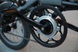 Bici piegante del blocco per grafici su ordinazione della lega della bicicletta della batteria di modo 24V della E-Bici