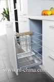 Gabinete de cozinha branco Shaped da cor do console